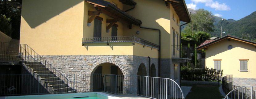 Ville di Lusso Menaggio Vista lago con piscina - Piscina