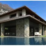 Ville di Lusso Lago Como Tremezzo Nuovissima Villa con Piscina e Vista Lago