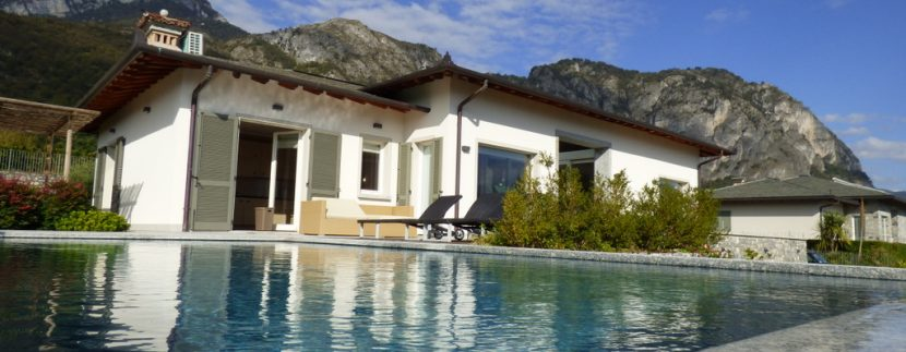 Ville di Lusso Tremezzina Vista lago Como con piscina
