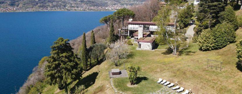 Villa di Lusso Colico con Piscina e Accesso al Lago - vista lago