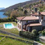 Villa di Lusso Cremia con Piscina e Vista Lago e giardino