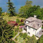 Villa di Lusso Lago Como Colico Fronte Lago con Darsena e Piscina