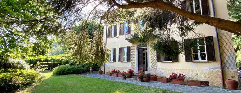 Villa di Lusso Lago Como Domaso con Parco e Vista Lago ... Posizione Esclusiva a 700mt dal lago